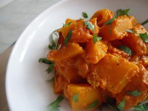 Butternut au curry