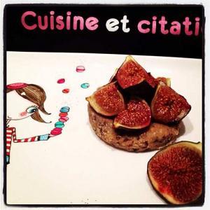Recette tartelettes sabl es aux figues roties au miel - Figues roties au miel ...