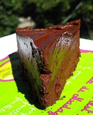 negative calorie chocolate cake recipe dishmaps. Black Bedroom Furniture Sets. Home Design Ideas