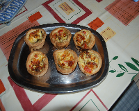 mini quiches tomates-mozzarella