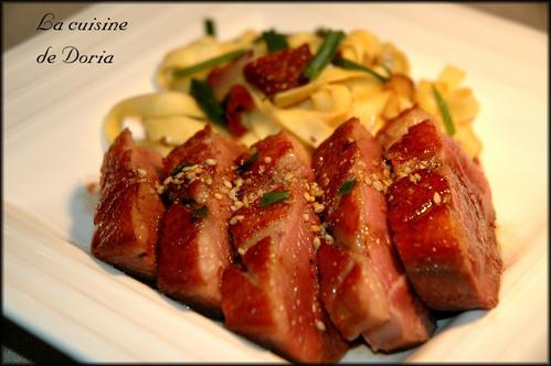 Recette magret de canard 179509 - Cuisiner magret de canard a la poele ...