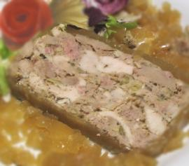 terrine de dinde aux marrons et whisky