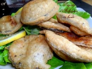 Recette beignets d 39 aubergines au basilic 1 amour de for Amour de cuisine chez soulef 2012