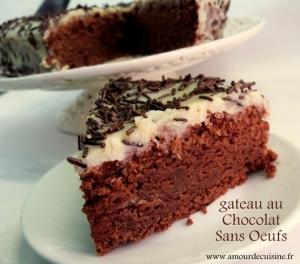 Recette gateau au chocolat sans oeufs 1 amour de cuisine for Amour de cuisine chez soulef 2012