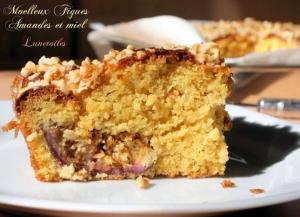 Recette g teau moelleux figues miel et amandes 1 amour de for Amour de cuisine chez soulef 2012