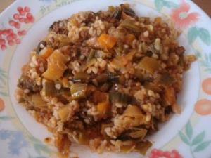 Recette poireaux a la viande hach et la sauce tomate sp cialit turque - Specialite turque cuisine ...