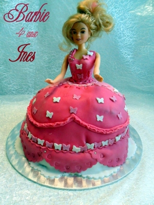 Recette princesse barbie gateau d 39 anniversaire 1 amour de for 1 amour de cuisine chez soulef