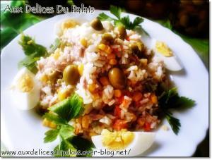 recette salade de riz au thon 180173. Black Bedroom Furniture Sets. Home Design Ideas