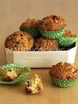 Mini cake aux fruits confits ou muffins aux fruits confits