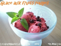 glace aux fruits rouges les gourmandises de mina lisa