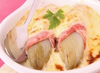 Endives au jambon au four