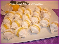 Whoopies de meringue au lemon curd
