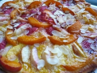 PIZZA SUCREE AUX FRUITS D  ETE
