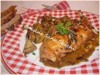 lapin aux artichauts (Coniglio ai carciofi)