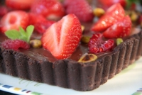 DOUBLE CHOC CHOCOLAT FRUITS ROUGES
