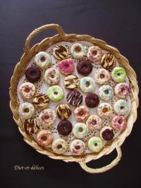 Donuts en arc en ciel