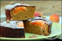 Moelleux � l abricot et � la pistache sans gluten et sans lactose