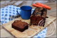 Carrot cake aux fruits secs sans gluten et sans lactose