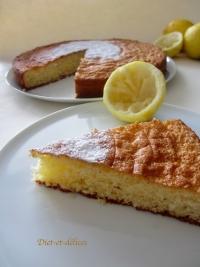 Gâteau aux citrons de Menton et à la poudre d  amandes (sans gluten)
