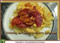 Omelette aux pommes de terre pimentée