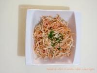 Salade de carottes et céleri râpés sauce légère