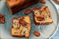 Banana cake aux chouchous de noix de pécan