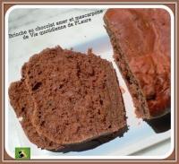 Brioche au chocolat amer et mascarpone