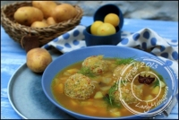 Boulettes de poisson et leur bouillon à la marseillaise de Gerald Passedat