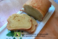 Cake mascarpone et cassonade