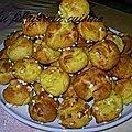 chouquettes coco