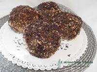 Tête de meringue au chocolat