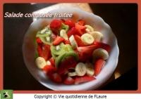 Salade composée fruitée