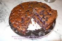 Myrtilles pour un breakfast cake