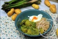 Curry d  asperges et pommes de terre nouvelles