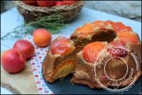 Gâteau à l abricot miel et polenta