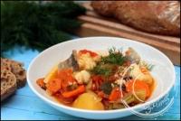 Soupe de poisson grecque à l aneth