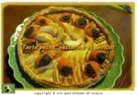 Tarte pêche nectarine et abricot