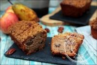 Crumble cake à la poire et à l  amaretto de Yotam Ottolenghi