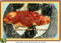 Barbue au four à la tomate