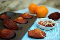 Madeleines au miel (et zeste d orange) de Cyril Lignac
