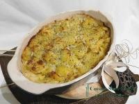 Gratin de pommes de terre au gorgonzola