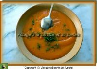 Potage à la carotte et au panais