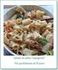 Salade de Mezze Naniche Rigate au thon et sauce ranch