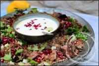 Salade de sarrasin au confit de canard sans gluten