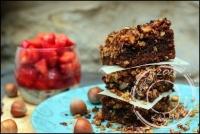 Crumb cake praliné