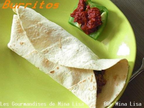 recette burritos les gourmandises de mina lisa. Black Bedroom Furniture Sets. Home Design Ideas