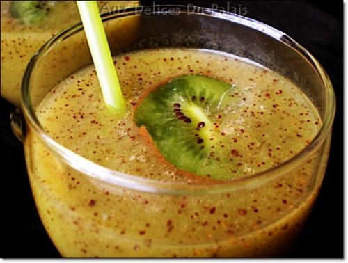 Recette jus de kiwi frais la recette rapide aux d lices du - Blog cuisine rapide et facile ...