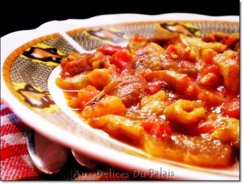 Recette hmisse salade mechouia aux d lices du palais blog de sal ha recette de g teaux alg riens - Blog de recettes de cuisine ...