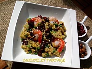 recette salade de quinoa et lentilles corail sauce noisette. Black Bedroom Furniture Sets. Home Design Ideas
