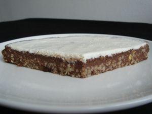 recette g teau quinoa peautre cacao au muesli chocolat. Black Bedroom Furniture Sets. Home Design Ideas